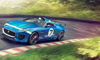 Jaguar F-Type Project 7 Concept to Make Debut at Goodwood Festival of Speed