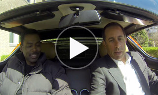 Chris Rock Joins Jerry Seinfeld in Latest Episode of 'Comedians in Cars Getting Coffee'