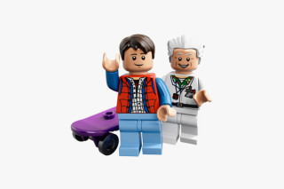 LEGO Unveils the 'Back to the Future' Time Machine