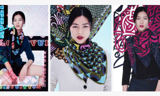 Louis Vuitton Foulards D'Artistes by EINE, eL Seed and Eko Nugroho