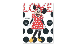 'LOVE Magazine' Issue 10 feat. Minnie Mouse, Cara Delevingne, Georgia May Jagger and Edie Campbell
