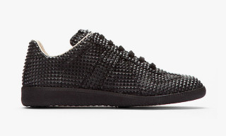 Maison Martin Margiela Black Studded Low-Top 22 Replica