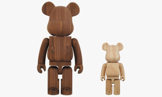 Karimoku x Medicom Toy Wooden Bearbrick Collection 2013