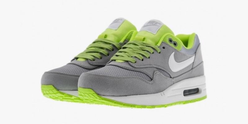 nike air max 1 green grey