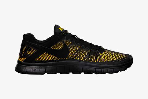 """9478689f0f2 The Nike Free Trainer 3.0 """"Anderson Silva"""" training shoe blends a supportive"""