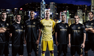 Nike Soccer Unveils Manchester City Away Kit for 2014