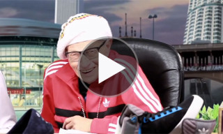 Snoop Lion Teaches Larry King How to Rap, While Smoking a Blunt