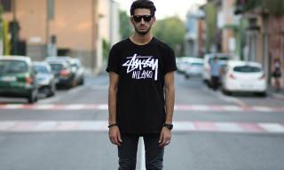 Street Style: Mattia Cheaib in Stussy, Nike, Carhartt