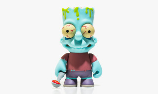 The Simpsons x Kid Robot Zombie Bart