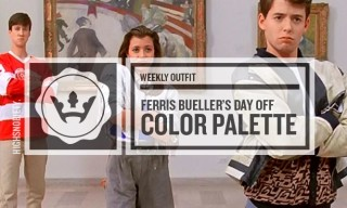 The Weekly Outfit: 'Ferris Bueller's Day Off' Color Palette
