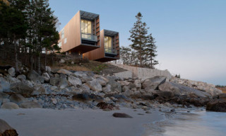 Two Hulls House Seaside Residence Inspired by Ships