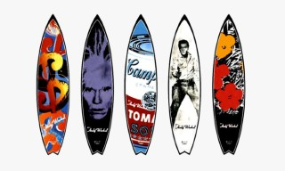 """Warhol Surf"" Exhibition feat. Handcrafted Surfboards by Tim Bessell"