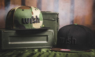 "Wish Spring/Summer 2013 ""Woodland Camo"" Snapback Pack"