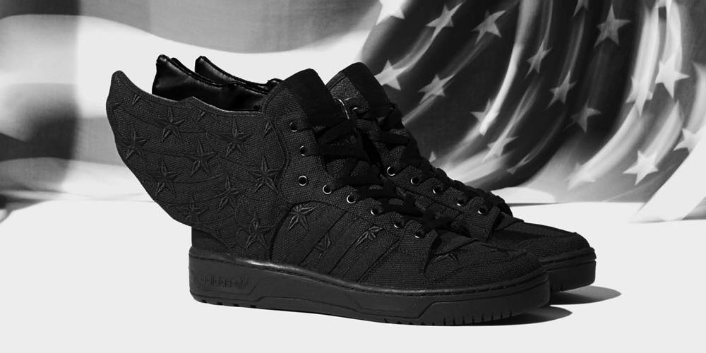 Adidas Jeremy Scott Flag Black