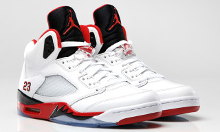 Air Jordan V Retro Fire Red/Black/White