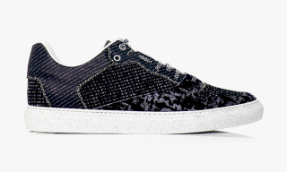 Balenciaga Fall/Winter 2013 Tweed and Leather Trainers