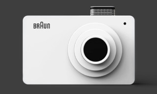 Designer Pays Tribute to Braun with Dieter Rams-Inspired Digital Camera Concept