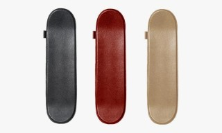 Jon Buscemi Deerskin Leather Skateboards