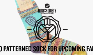 Buyer's Guide: 10 Patterned Socks for the Upcoming Fall Season