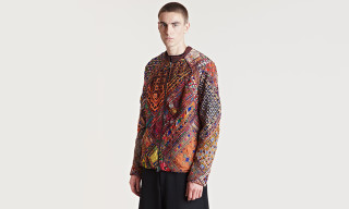 By Walid Fall/Winter 2013 Embroidered Mirror Jacket