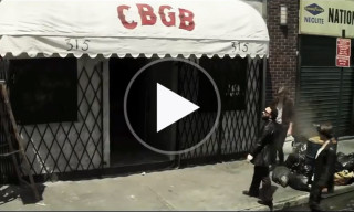 Watch the Trailer for 'CBGB' which Chronicles the History of the Legendary NYC Club
