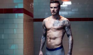 David Beckham Bodywear for H&M Fall/Winter 2013 Lookbook
