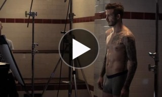 Behind the Scenes of the David Beckham for H&M Bodywear Fall 2013 Campaign