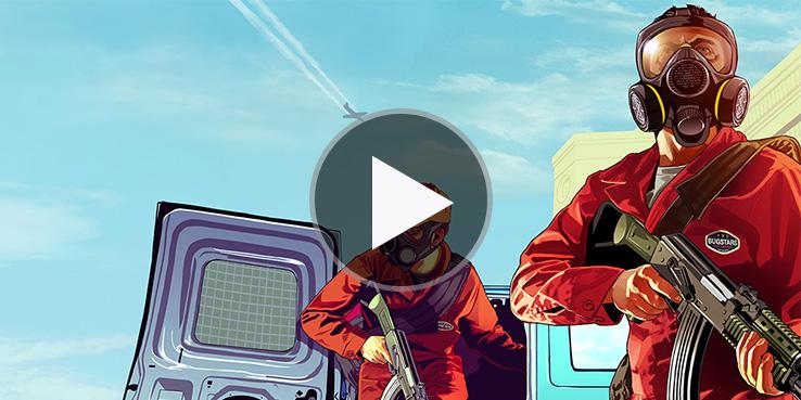 'Grand Theft Auto V' - Official Trailer • Highsnobiety