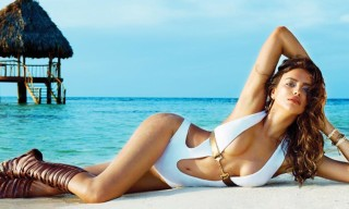 Irina Shayk's Beach Bunny Swimwear Collection