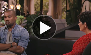 First Look: Kanye West Gives Interview on Kris Jenner's Talk Show