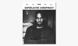 Kanye West Covers WeSC's 'Superlative Conspiracy' Issue #8