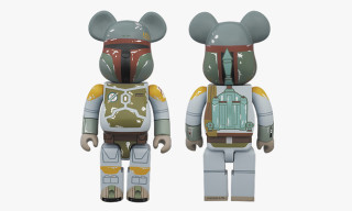 Medicom Toy BE@RBRICK Boba Fett and Stussy T-Shirt