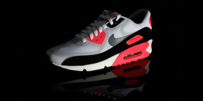 67c03ce297 well-wreapped Nike Air Max 90 PREM Tape QS ??Infrared?? Highsnobiety ...