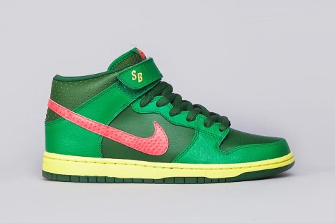 Nike SB Dunk Mid Pro Lucky Green/Atomic Red – Green