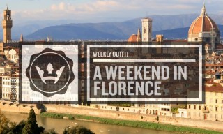 The Weekly Outfit: A Weekend in Florence