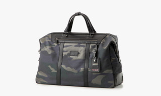 MIHARAYASUHIRO x Tumi Python & Camo Luggage Collection