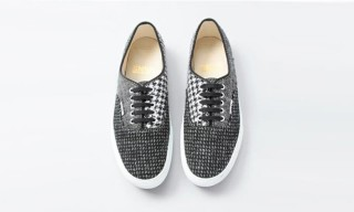 Beauty and Youth x Harris Tweed x Vans Authentic and Slip-On