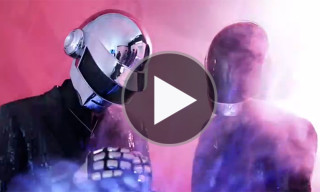 Daft Punk and Pharrell Behind the Scenes of the VIBE 20th Anniversary Cover Shoot