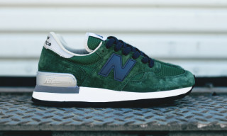 "New Balance ""Made In USA"" 990 Green"