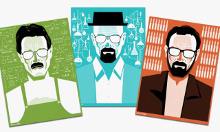 'Breaking Bad' Limited Edition Evolution of Walter White Prints