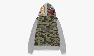 "A Bathing Ape ""Tiger Camo"" ZOZOTOWN Exclusive Capsule Collection"