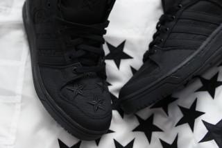 new concept 5e6df 2456a A Closer Look at the adidas Originals x Jeremy Scott x AAP Rocky JS Wings  2.0 BLACK FLAG