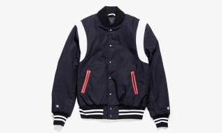 Black Scale x Golden Bear Varsity Jacket