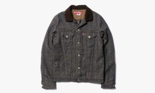 Junya Watanabe MAN x Levi's Garment Milled Carded Wool Check Jacket