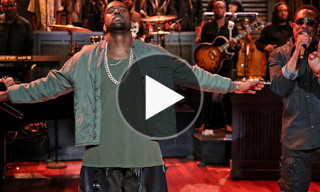 "Watch Kanye West Perform ""Bound 2"" with Charlie Wilson and The Roots"
