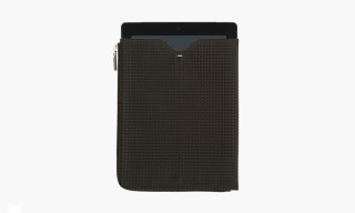 Maison Martin Margiela Black Studded iPad Case