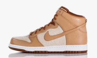"""Nike Dunk Hi PRM """"Linen"""" & """"Acorn"""""""