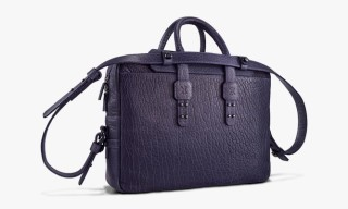 Parabellum Leather Briefcase