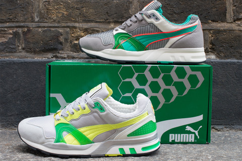 cad7f293f54 PUMA has ventured back to the archive to seek out the much-anticipated  return of one of the brand s most iconic running style  the Trinomic XT2  Plus.