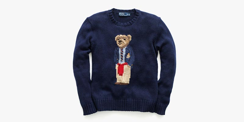 Nike Performance Polo >> Ralph Lauren Brings Back the Iconic Polo Bear Sweater
